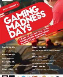Gaming Madness Days BIFFF 2015