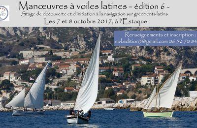 Voiles latines - Stage de découverte et d'initiation