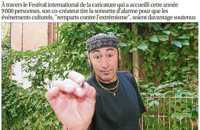 Fathy Bourayou - Coup de crayon, coup de gueule
