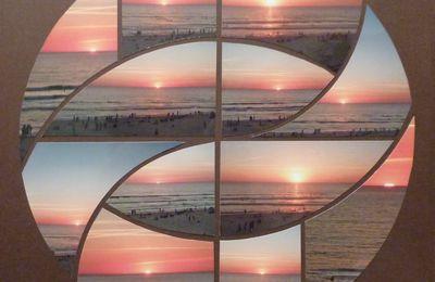 Coucher de soleil à Lacanau