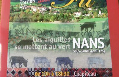 Dernière nouvelle de Nans sous Sainte Anne
