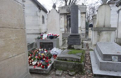 Jim Morisson au Père Lachaise (Paris)