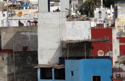 Travaux de sur-élévation et d'agrandissement dans la Médina de Tanger (2 photos)