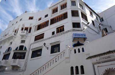 Un immeuble de la Médina de Tanger
