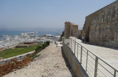 La reconstruction de la tour du Pacha Ali Rifi à Tanger