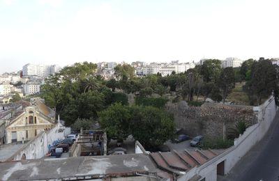 Le Cimetière juif vu depuis le Café HAITAM à Tanger