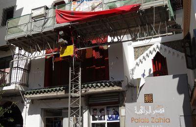 Le Palais ZAHIA dans la Médina de Tanger, bientôt la fin des travaux ?