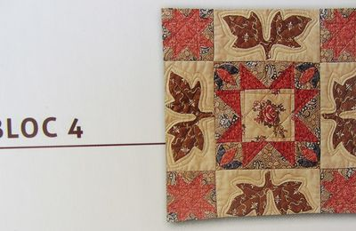 "Patchwork : ""Antique wedding"" bloc 4"