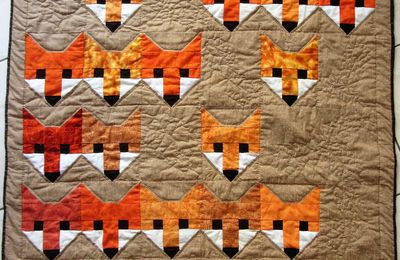 "Patchwork : ""les renards de James"""