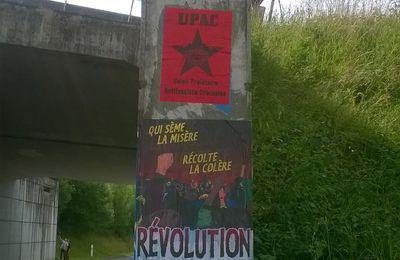 Affichage UPAC sur le Dognon.