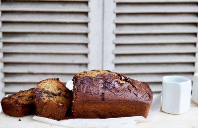 Banana Bread / Cake banane chocolat