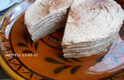 Gâteau de Crêpes façon Tiramisu !