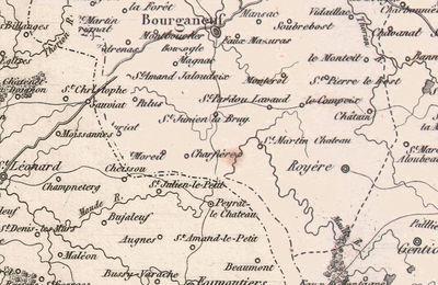 Histoire et Légendes en Limousin : Roger de Laron. ( Saint-Julien-le-Petit ) - 3/.-