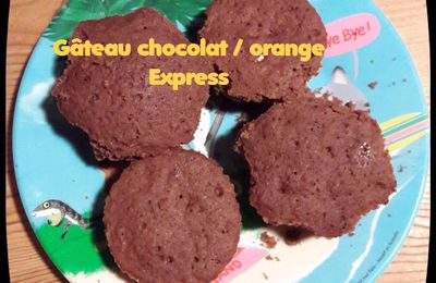 Gâteau Chocolat / Orange Express