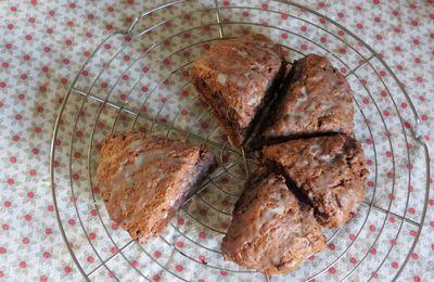 Scones au cacao