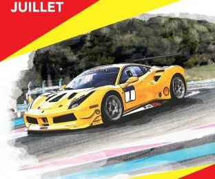 ferrari 70 ans castellet paul ricard challenge tropheo pirelli shell maranello anniversaire photo video