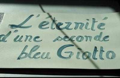 L'éternité d'une seconde bleu Giotto