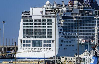 Le port de Civitavecchia et les gros bateaux