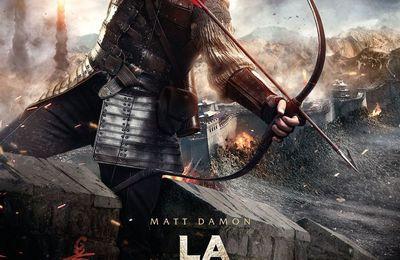 Ciné-La Grande Muraille (Zhang Yimou-2016)  ****  -10