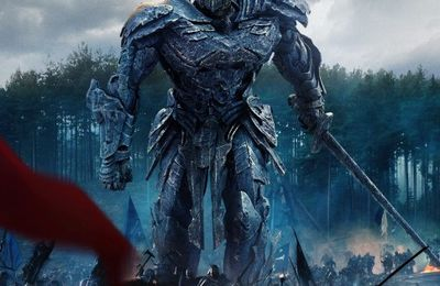 Transformers -The Last Knight s'affiche