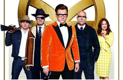 Sortie US- 22 Septembre - Kingsman : Le cercle d'or
