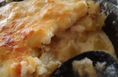 gratin de morue avec pommes de terre
