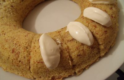 Gâteau couronne aux amandes