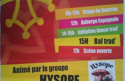 LA FORCE 24  le 14 mai bal folk stage