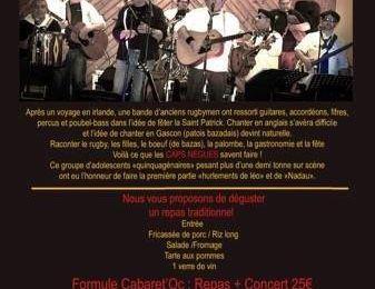 Les Caps Nègues en concert à Périgueux le 7 octobre 2017