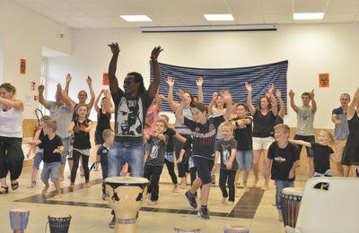Danse africaine à la salle des fêtes