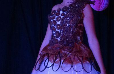 Une robe en chocolat
