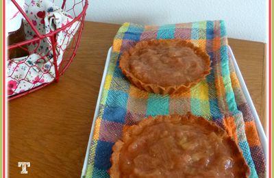 ... Tartelettes à la Rhubarbe ...