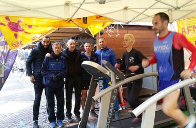 03-12-2016 L'AMSLF Athlétisme au Téléthon
