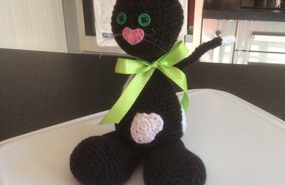 Mon chat au crochet