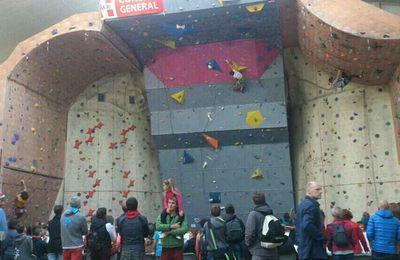 Belles performances au Top des p'tits grimpeurs de Chambéry