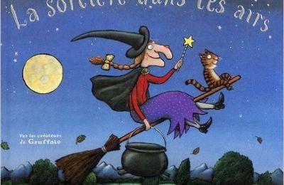 La sorcière dans les airs de Julia Donaldson