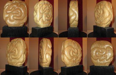 sculpture bois spontanée première