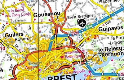 Gouesnou, petite commune dans l'aire urbaine de Brest (correction DS 1iere 3)