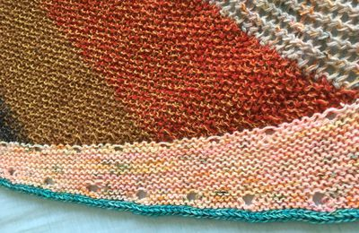 Marled Magic Shawl : suite et fin
