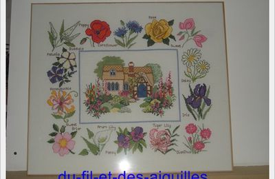 Cottage Garden sampler# Suite et fin!!!