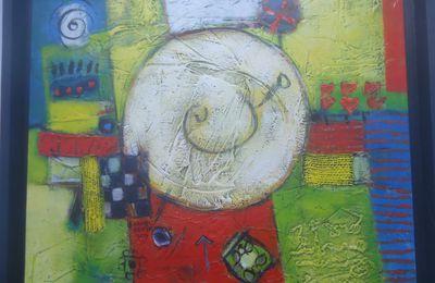 Quai...Exposition des Beaux Arts à Skikda : Kamel Benchiekh (VII)