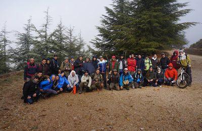 Vagues... Randonneurs de Skikda : Bivouac à Chélia avec 2338 m d'altitude (113)