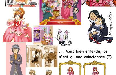 La BD « Princesse Capucine » est-elle un plagiat du jeu video « Princess Debut : Le bal royal » ?