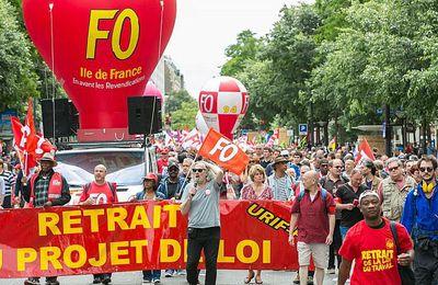 Loi Travail - Une journée de mobilisation à l'ombre du 49-3
