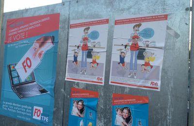 Début du vote des élections TPE, votez pour vous et faites voter, le panneau syndical