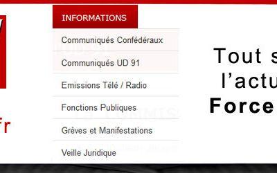 FO 91,  solidarité pour le maintien de la Bourse du Travail de l'Essonne