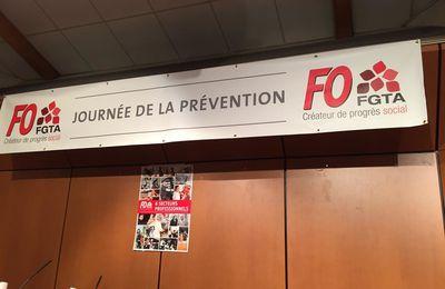 FGTA FO, journée de la prévention