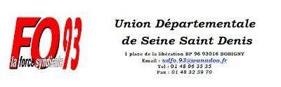 L'UD FO 93, UN COMITÉ DÉPARTEMENTAL REVENDICATIF !