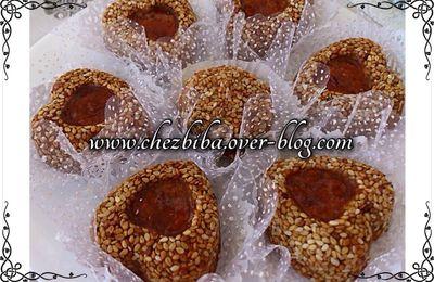 Gâteau grain de sésame au Bimo  قاطو الجلجلان بالبيمو
