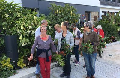 La SHBL en Visite de jardins à Fouesnant
